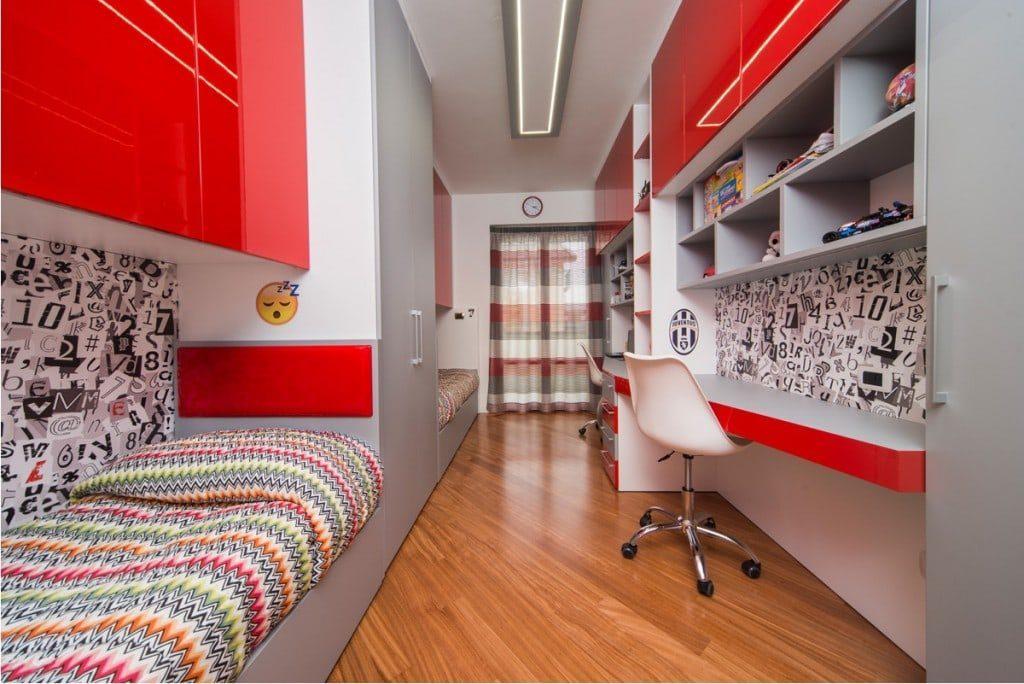 Arredamento su misura camera da letto per bambini mdm interni - Camera da letto bambini ...