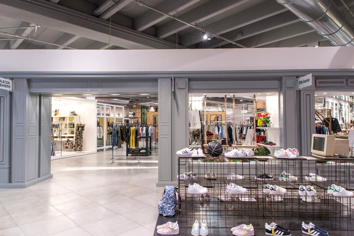 Arredamento personalizzato negozio di scarpe