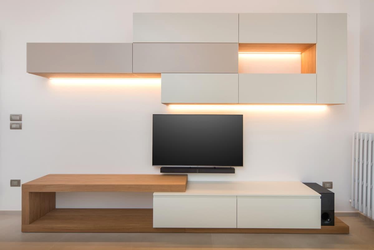 Arredamento personalizzato soggiorno